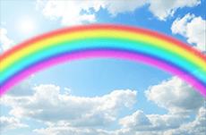 虹は七色ではない?世界で違う色の見方