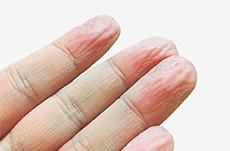 風呂に入ると「指」がシワシワになる理由