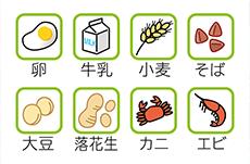 食物アレルギーの原因で最も多いのは?