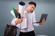 仕事が遅い人の特徴や改善法