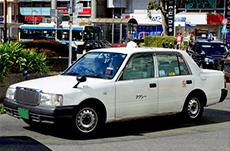 日本の「タクシー」でよく使われる車種とは