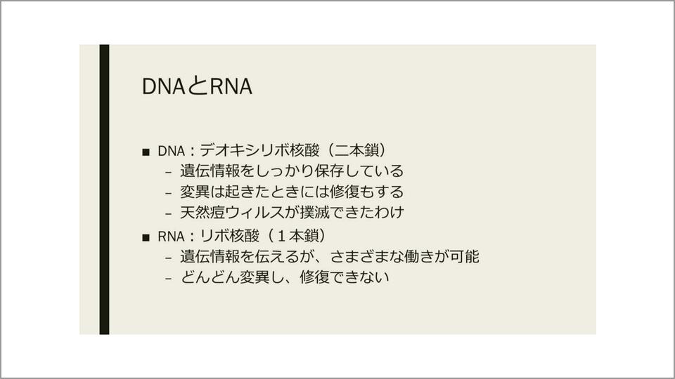 大きな被害をもたらす一本鎖RNAのウイルスとは   長谷川眞理子   テン ...