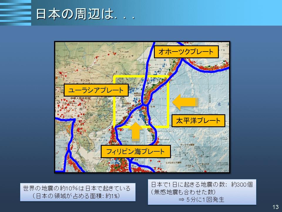 日本付近に存在する4つのプレートが地震大国の…