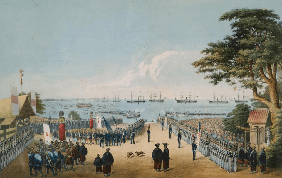黒船来航から15年後に幕府が潰れた原因とは?