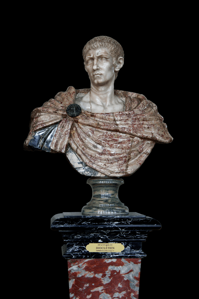 軍人皇帝時代に終止符を打ったディオクレティアヌス