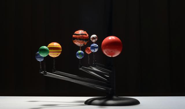 宇宙の大きさをスケールモデルを使って実感する