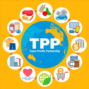 TPP(環太平洋経済連携協定)